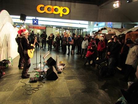 Akustik-Trio am Weihnachtsmarkt (öffentlich)